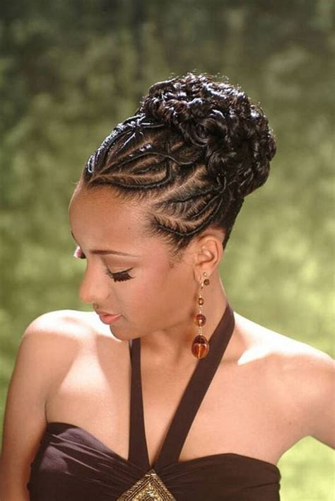 braided weave hairstyles pictures african american french braid updo hairstyles hair