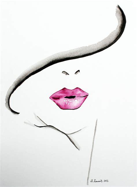 items similar to original fashion and beauty illustration