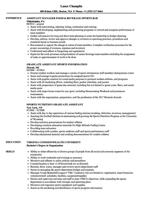 sle sports resume for college sports nutrition degree nutrition ftempo