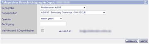 frankfurter fond bank ffb depotbenachrichtigung im portrait bei der fil fondsbank
