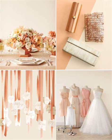 Summer Wedding Colors: Peaches & Cream #WilliamsSJ