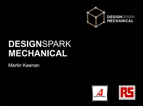 2d Cad Online designspark mechanical press kit rs components