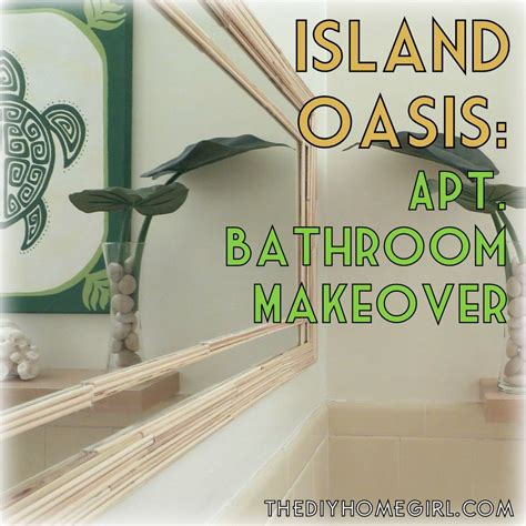 hawaiian bathroom decor from ohio to oahu how i turned my apartment bathroom into