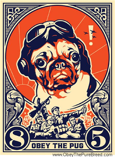 obey the pug obey the pug breed t shirts gifts poster and more for canine world