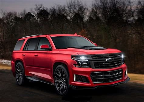 Chevrolet For 2020 by Redesign Details What Will The 2020 Chevy Tahoe Look
