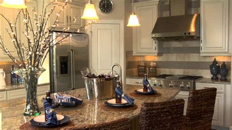 Oversized Kitchen Island by 2013 Parade Of Homes Taylor Morrison Lazio Youtube