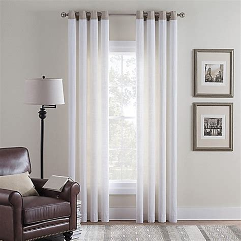 cambria curtains buy cambria 174 malta remix 95 inch grommet top window