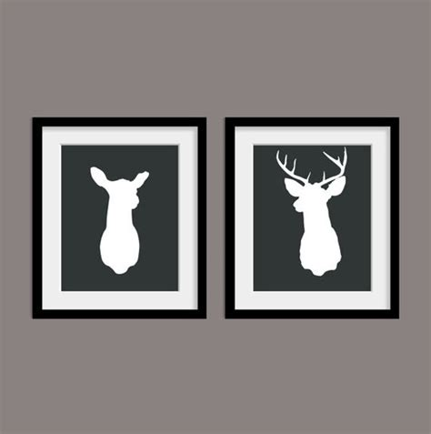 stag head home decor stag antlers mounted deer heads and antlers on pinterest