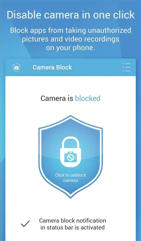 how to black out system apps on your samsung galaxy s5 for camera block anti spy malware android apps on google play