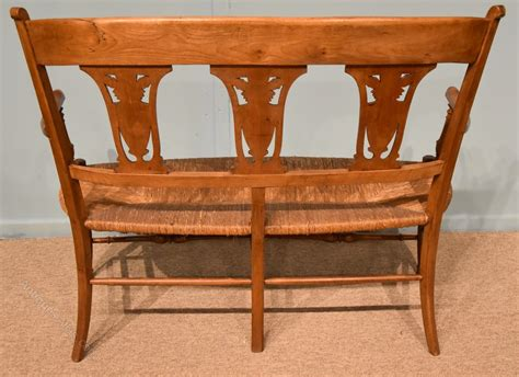 cherry wood sofa french cherry wood sofa settle from provence antiques atlas