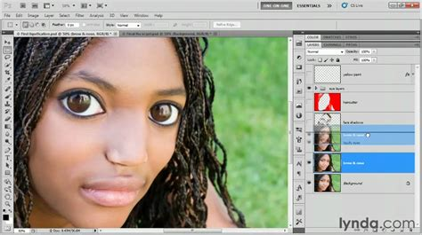 photoshop cs5 masking tutorial video photoshop cs5 adding a layer mask lynda com tutorial