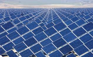 provision of green energy solar power plant for power