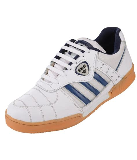 sports shoes for badminton ess badminton white sport shoes price in india buy ess
