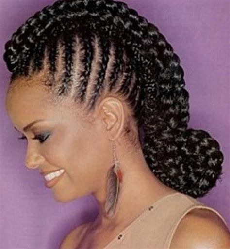 swoop hairstyles for black women swoop updo braided hairstyles for black women