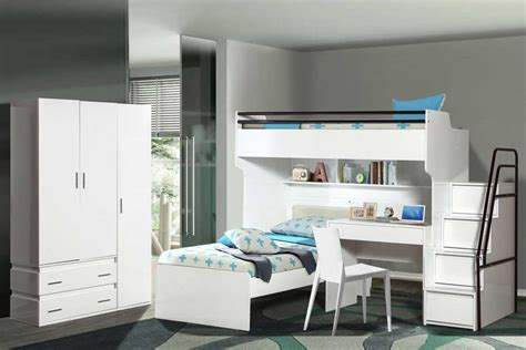 Bunk Bed With Wardrobe Enhance Your Child S Bedroom With Our Funky Designs