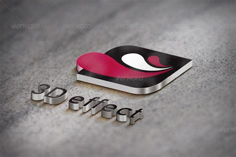 3d logo mockup 3d logo mockup 5 styles by michelleyo graphicriver