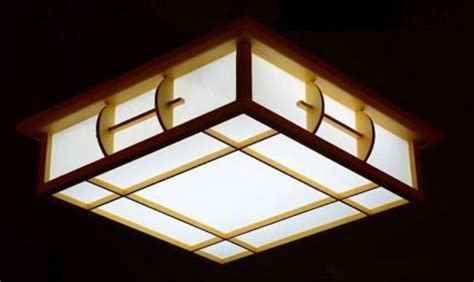 Japanese Ceiling Light Keep Your Ceiling Traditional With Japanese Style Ceiling Lights Warisan Lighting