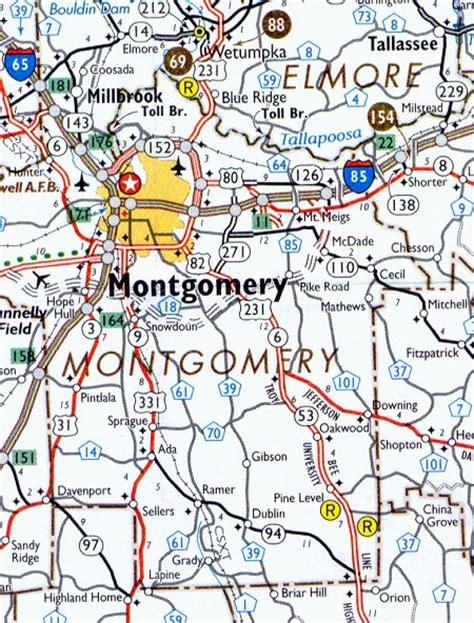 montgomery alabama map montgomery county map alabama alabama hotels motels