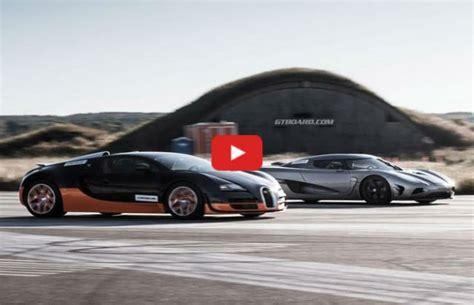 Koenigsegg Agera R Vs Bugatti Veyron Ss Pin Veyron Vs Koenigsegg On