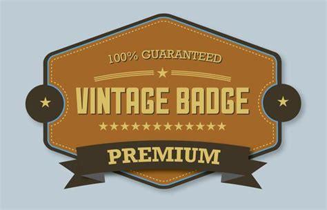 tutorial illustrator badge learn how to design premium vintage badge in illustrator