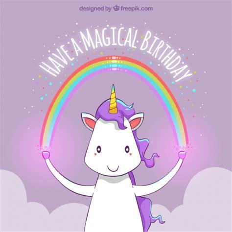 fondo de unicornio feliz brillante descargar vectores gratis fondo de feliz cumplea 241 os de unicornio con un arcoiris