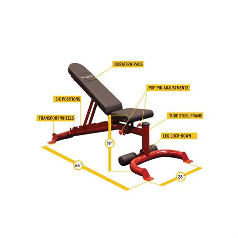 body solid flat incline bench body solid gfid100 flat incline decline bench