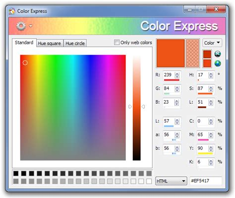 color finder tool color express a comprehensive tool to extract and