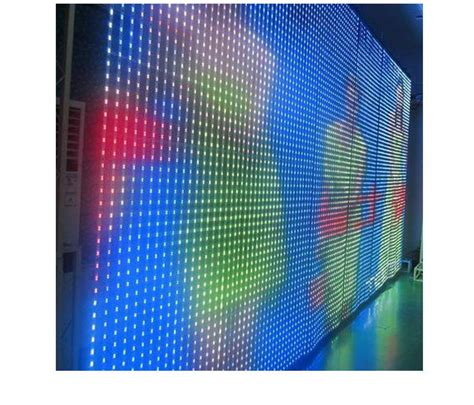 flexible led curtain price p80 flexible led curtain video display for advertising