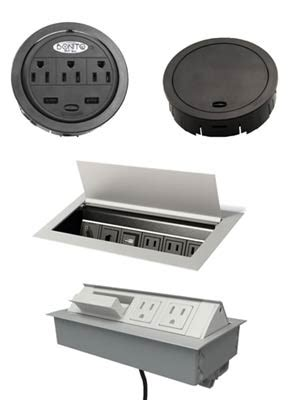 Built In Outlets Inserts Cableorganizer Com