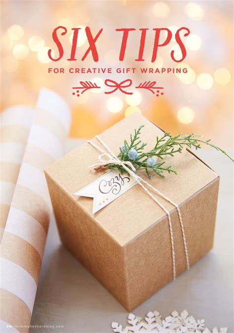 gift wrap tips six tips for creative gift wrapping think make