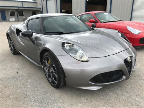2015 Alfa Romeo 4c For Sale by Used 2015 Alfa Romeo 4c Car For Sale At Auctionexport
