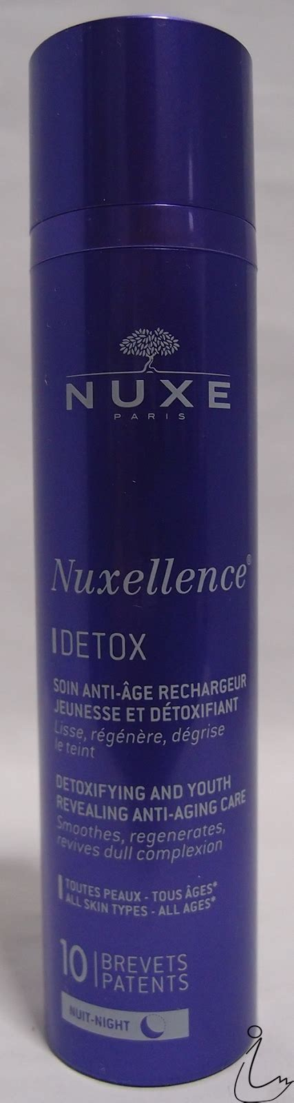 How To Use Nuxe Nuxellence Detox by The Swanple Review Nuxe Nuxellence Eclat And Nuxellence