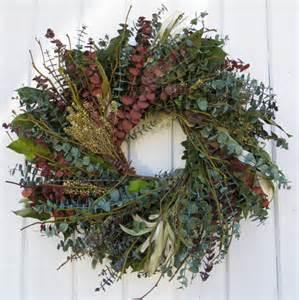 eucalyptus wreath twig wreath mixed eucalyptus wreath green