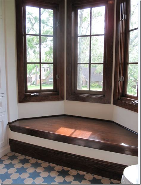 bay window seats bay window seat cement tile floor diy pinterest