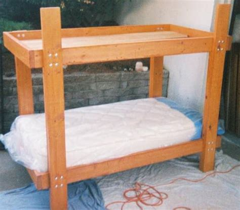 2x4 Bunk Beds Bunk Bed Plans 2x6 Pdf Woodworking