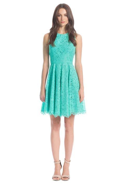 Dress Aquamarine aquamarine lace judith dress 2014