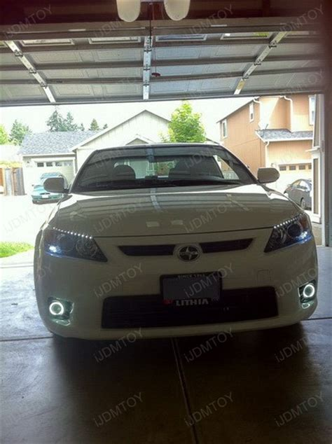tc light on car how to install angel eyes projectors on 2011 scion tc