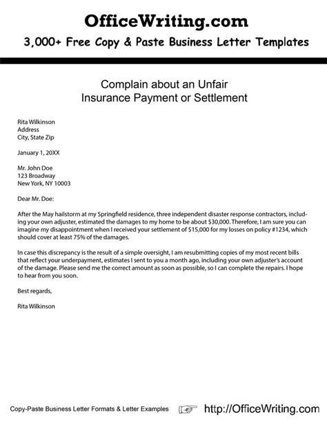 Complaint Letter B Q exle complaint letter hellozach co
