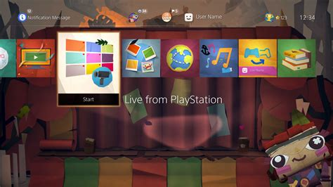 ps4 themes us store tearaway unfolded the gopher show dynamic theme on ps4