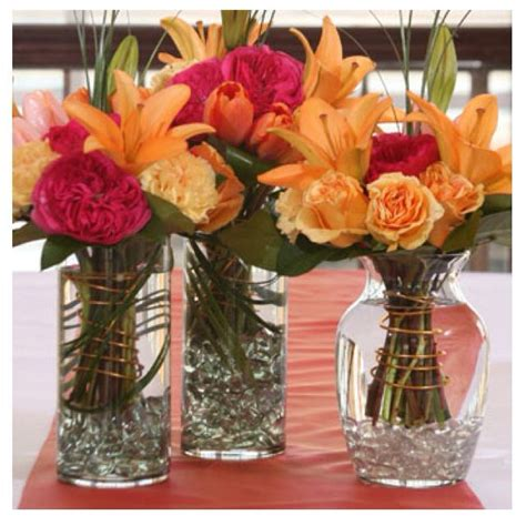 floreros dollar tree dollar tree ideas vases marbles and those fake flowers