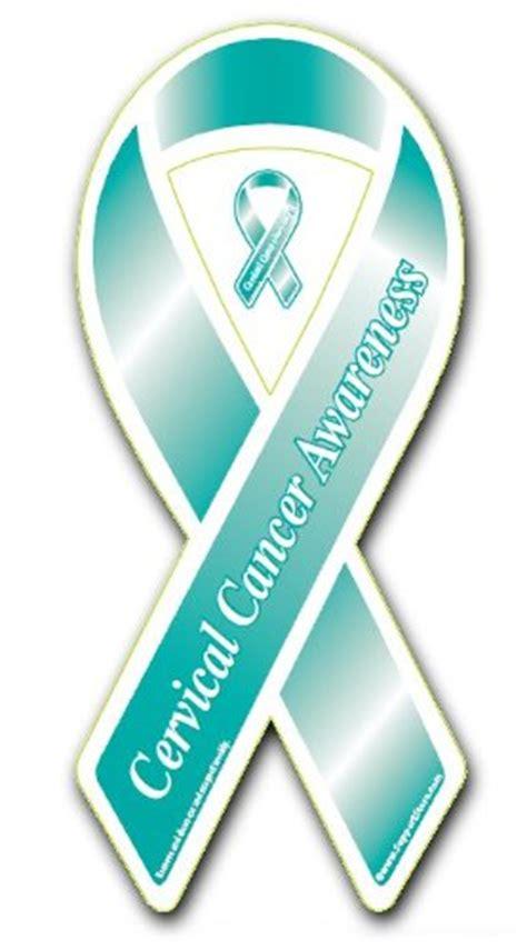 cervical cancer ribbon color cervical cancer ribbon cervical cancer ribbon