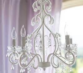 Childrens Chandelier White Lydia Chandelier Pottery Barn