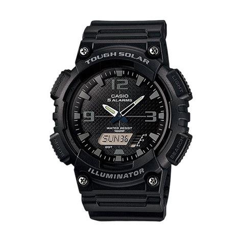 Casio Aq 180w 1b Jam Tangan Pria Resin Black jam tangan casio aq jualan jam tangan wanita
