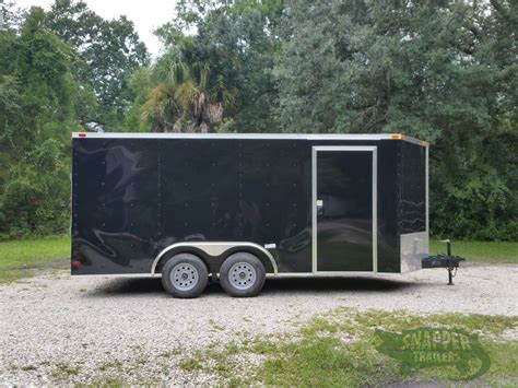 black trailer 8 5x16 ta trailer black r side door snapper trailers