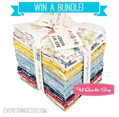 Giveaway Fabric - designer fabric giveaway from fat quarter shop