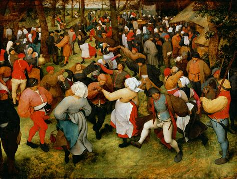 pieter bruegel the wedding dance pieter bruegel the elder biblioklept