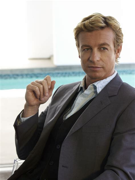 blond hair actor in the mentalist simon baker margin call and the mentalist interview collider