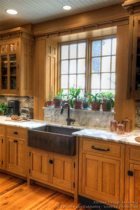 mission style kitchen cabinets mission style kitchens designs and photos