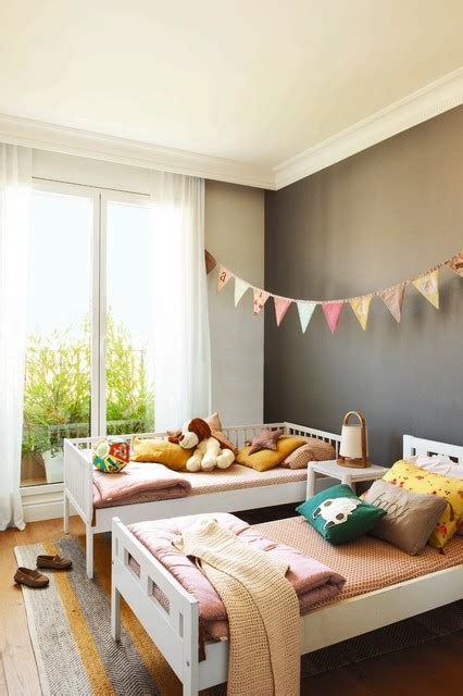 lively scandinavian kids room designs  children