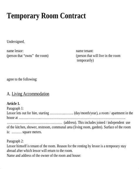 term rental agreements sle term rental agreement 9 exles in word pdf